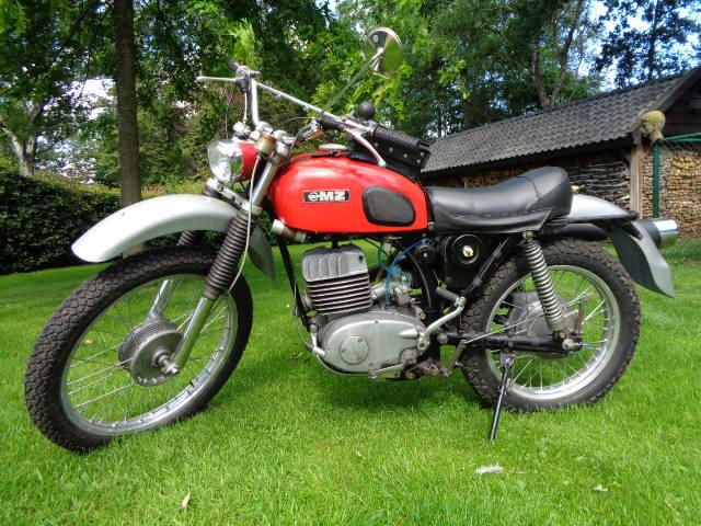 MZ motorfiets
